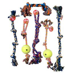 18 of Dog Toy Rope Chews