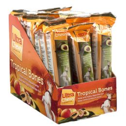 24 of Dog Treat Ultra Chewy Tropical Bone Avocado