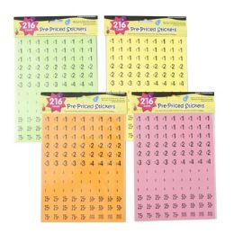 120 of Preprice Stickers Neon Colors