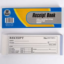 48 of Receipt Book Numbered