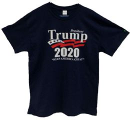 12 of Navy Color T-Shirt Trump 2020