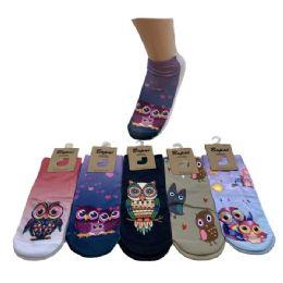 36 of Women's Owl Print Casual Ankle Socks