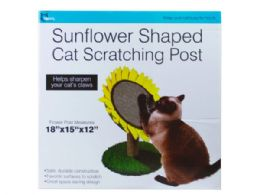 3 of Sunflower Shaped Cat Scratching Post
