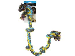 12 of 5 Knot Rope Dog Pull Toy