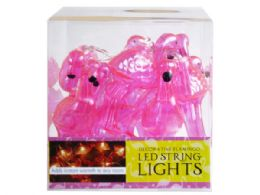 12 of Decorative Flamingo String Lights