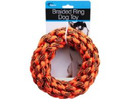 18 of Braided Ring Dog Toy