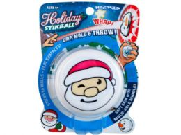 72 of Santa Sticky Throw Toy