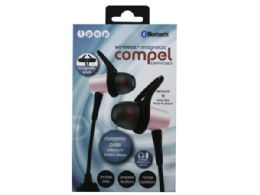 6 of Ipop Compel Rose Gold Bluetooth Earphones With Case
