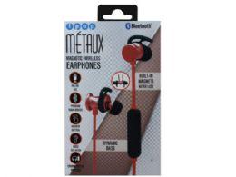 6 of Ipop Metaux Red Sport Bluetooth Earphones With Case