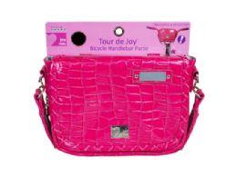 36 of Tour De Joy Hot Pink Handlebar Purse