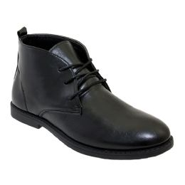 12 of Mens Casual Chukka Boot In Black