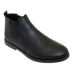 12 of Mens Casual Chukka Ankle Boots In Black