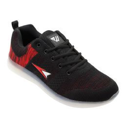 12 of Mens Casual Athletic Sneakers In Black