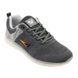 12 of Mens Casual Athletic Sneakers In Grey