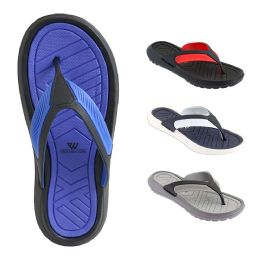 48 of Mens Thong Sandals Assorted Colors