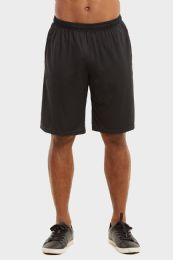 24 of Knocker Mens Athletic Shorts In Black Size Medium