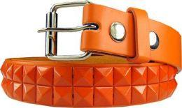 36 of Kids Studded Belts In Orange