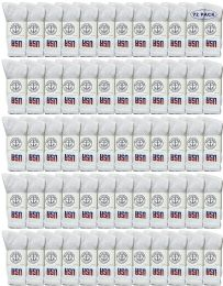 72 of Yacht & Smith Men's Wholesale Bulk Cotton Socks, With Free Shipping Size 10-13 (white Usa)