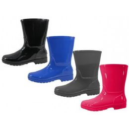 24 of Youth's Water Proof Soft Plain Rubber Rain
