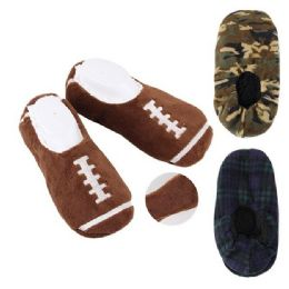 24 of Men's House Slippers [assorted Styles]