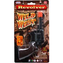 """96 of 5.5"""" Wild West Cap Gun (revolver) In Blister Card"""
