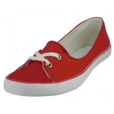 24 of Lace Up Canvas Shoe ( *red Color )
