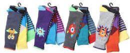 12 of Mens Elegant Patterned Dress Socks