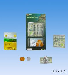 72 of Mini Play Money Set In Blister Card