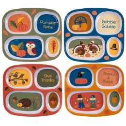 48 of Melamine Kids Harvest Dinnerware 4ast Rectangle Shape Plate