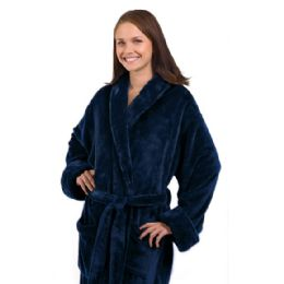 3 of Tahoe Fleece Shawl Collar Robe
