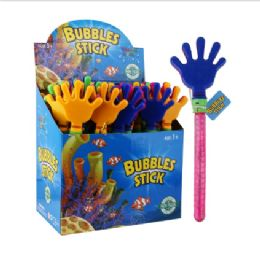 48 of Water World Bubble Stick 12.9in Hand Display