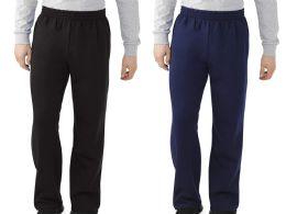 24 of Men's Fruit Of The Loom Sweatpants, Size Large Bulk Buy