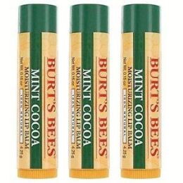 100 of Burt's Bees Limited Edition Lip Balm Mint Cocoa 0.15oz