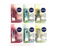 50 of Nivea Lip Carded Items