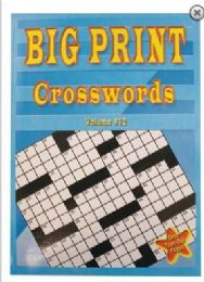48 of Large Print 80pg Cross Word Puzzles