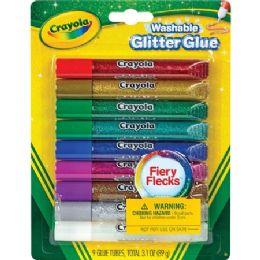 84 of Crayola Washable Glitter Glue