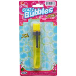 """48 of 4.75"""" Bubble Stick In Blister Card"""