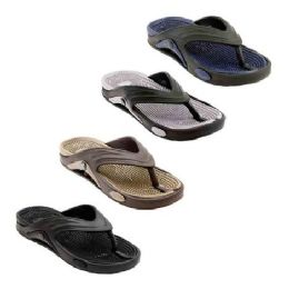 48 of Mens Thong Sandals In Assorted Color