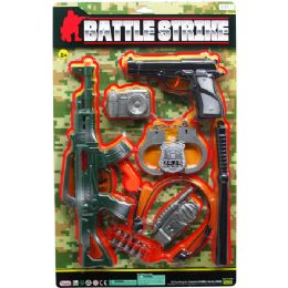 """12 of 15"""" M16 Assault Toy Rifle Military Set On Blister Card"""