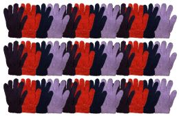 36 of Yacht & Smtih Womens Assorted Colors Warm Fuzzy Gloves