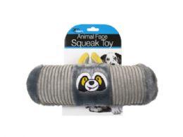18 of Animal Face Squeak Toy Assortment