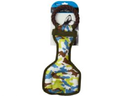 9 of Camouflage Dog Tug Toy With Rope Handle