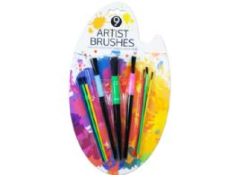 36 of 9 Piece Paint Brush