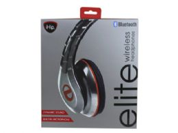 6 of Ihip Elite Red And Silver Bluetooth Over The Ear Headphones