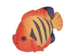 24 of Wild Republic Sea Critters Plush Angelfish Flame