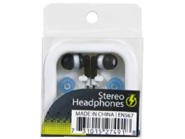 144 of Stereo Earbuds With 2 Extra Covers