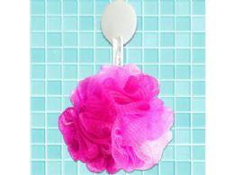 72 of Hot Pink Mesh Net Body Sponge