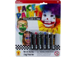 72 of 6pc Face Paint Sticks Set