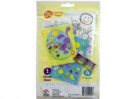 72 of Spring Into Easter 24 Page Coloring Pouch With Crayons And S