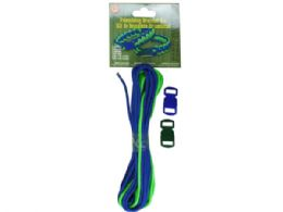 72 of Blue And Green Parachute Cord Friendship Bracelet Kit